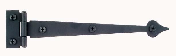 Spear Tip Heavy Iron Strap Hinge 10 Quot Architecturals Net