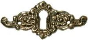 Victorian Keyhole Covers Brass victorian keyhole cover architecturals ... Victorian Keyhole Covers