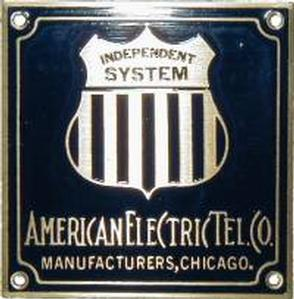 American Electric Nameplate