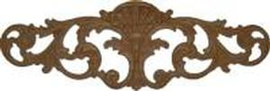 "Embossed Oak Ornament - 6 3/16"" x 18 1/4"""